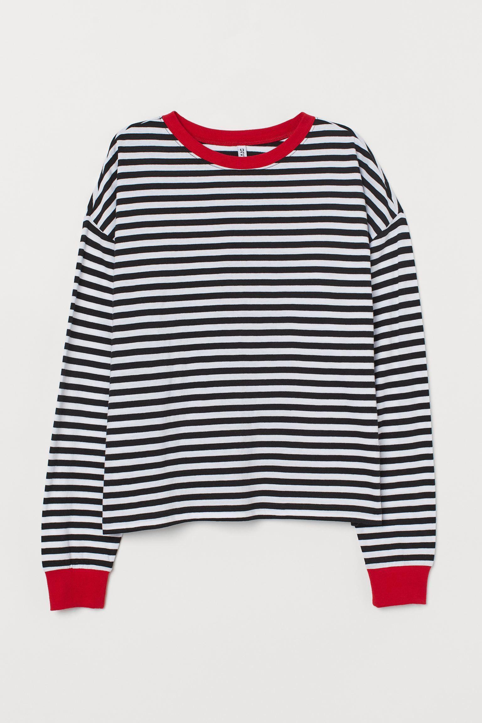 Отзыв на Полосатый футболка трикотажная из Интернет-Магазина H&M