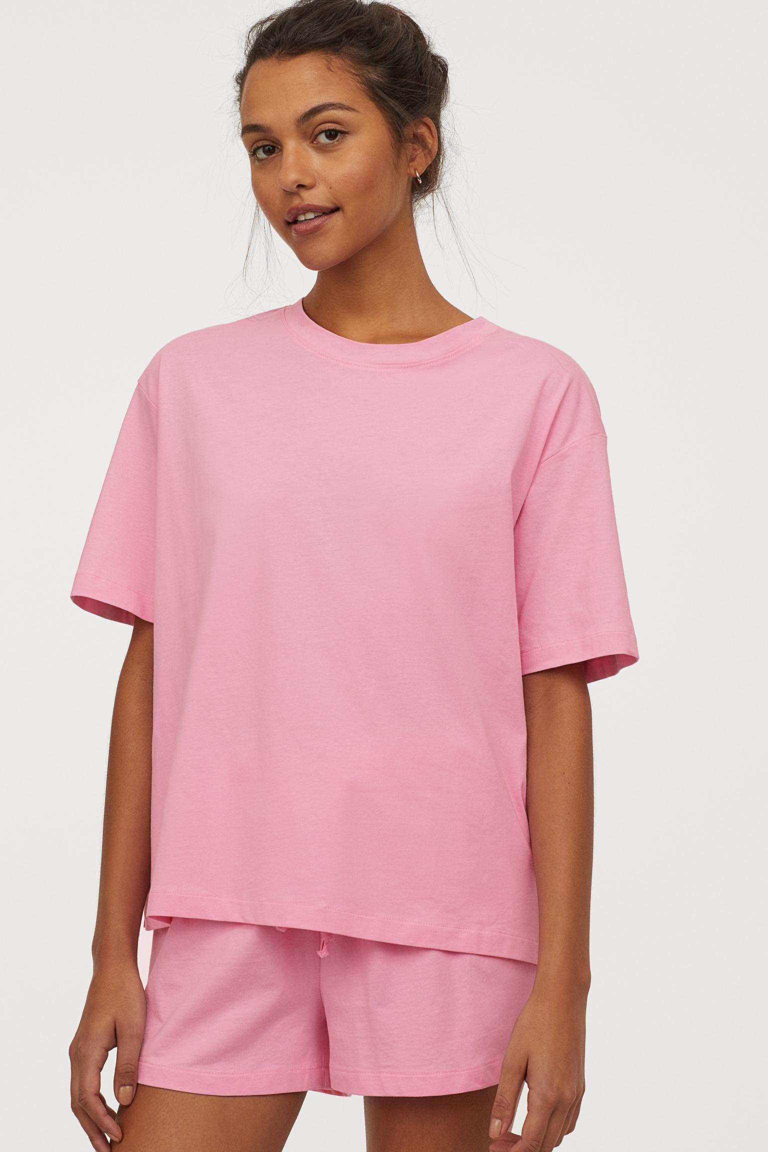 Отзыв на Пижама с Хлопка Джерси из Интернет-Магазина H&M