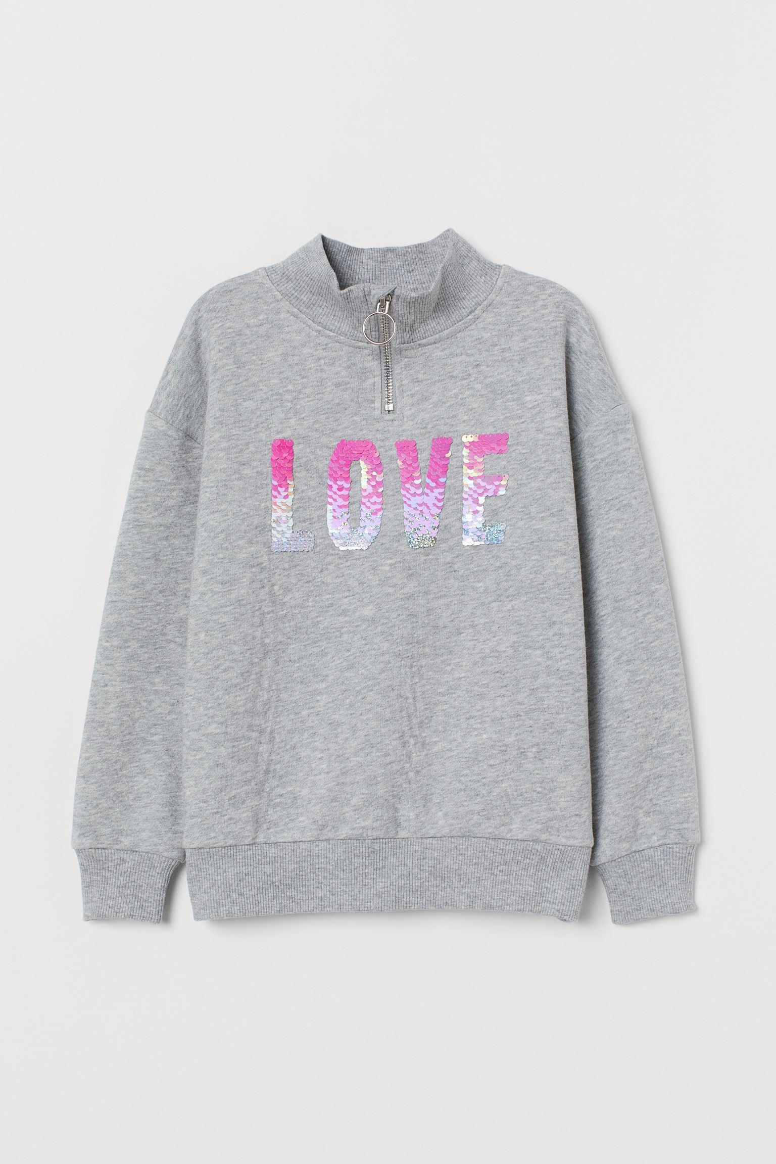 Отзыв на Свитер с Блесток мотив из Интернет-Магазина H&M