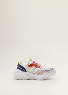 Отзыв на Geschnürte Plateau-Sneakers из Интернет-Магазина MANGO Outlet