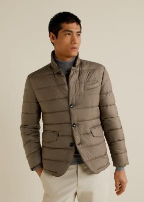 Отзыв на Стеганая куртка с карманами из Интернет-Магазина MANGO Outlet