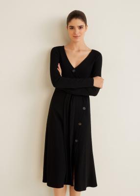 Отзыв на Платье с разорвал Strickjersey из Интернет-Магазина MANGO Outlet