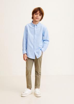 Отзыв на Рубашки Оксфорд с хлопка из Интернет-Магазина MANGO Outlet