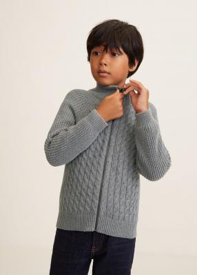 Отзыв на Кардиган с вязаной косичкой из Интернет-Магазина MANGO Outlet