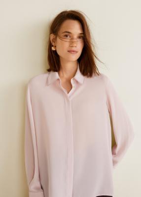 Отзыв на Рубашка с Контрастной строчкой из Интернет-Магазина MANGO Outlet