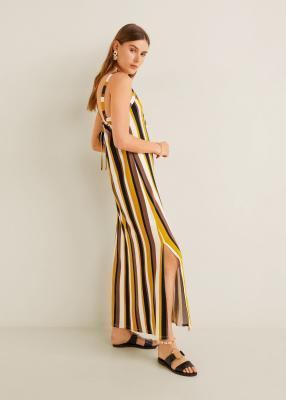 Отзыв на Длинная, с принтом Платье из Интернет-Магазина MANGO Outlet