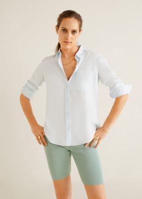 Отзыв на Лиоцелл Рубашка с нагрудным карманом из Интернет-Магазина MANGO Outlet