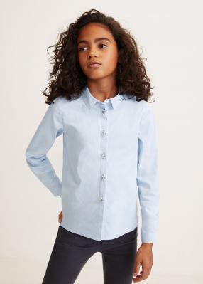 Отзыв на Хлопковая рубашка с аппликацией из Интернет-Магазина MANGO Outlet