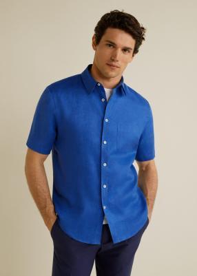 Отзыв на Нормальные Fit Льняная Рубашка из Интернет-Магазина MANGO Outlet