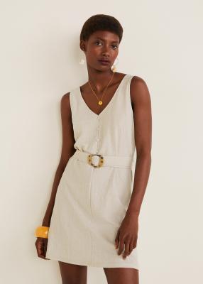 Отзыв на Платье с съемный ремень Пояс из Интернет-Магазина MANGO Outlet