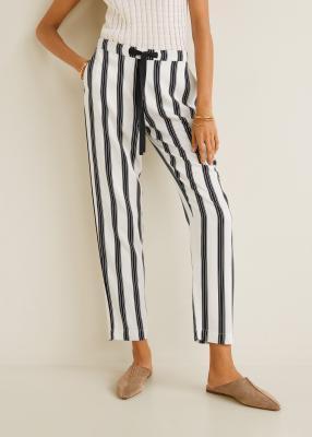 Отзыв на Длинные Прямые штаны из Интернет-Магазина MANGO Outlet