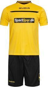 Отзыв на Sportspar.de Trikot-Set 2-teilig Givova Kit One KITC58-0710 из Интернет-Магазина SportSpar