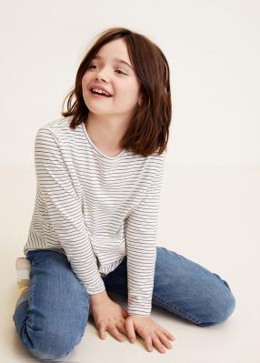 Отзыв на Gestreiftes Baumwoll-Shirt из Интернет-Магазина MANGO Outlet