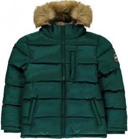 Отзыв на Для мальчика 2 на молнии Пузырь Куртка для подростка из Интернет-Магазина Sports Direct