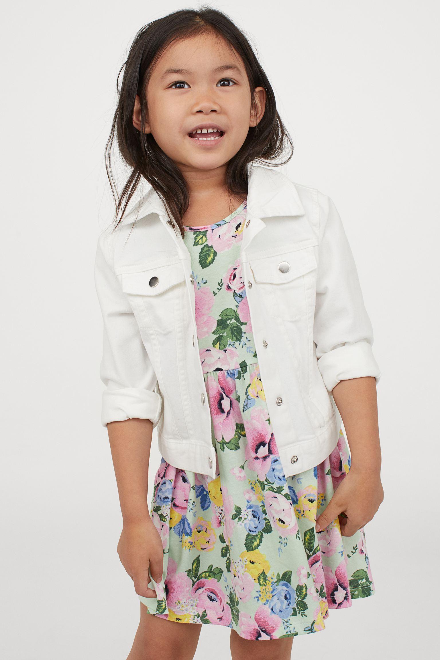 Отзыв на Узорчатое трикотажное платье из Интернет-Магазина H&M