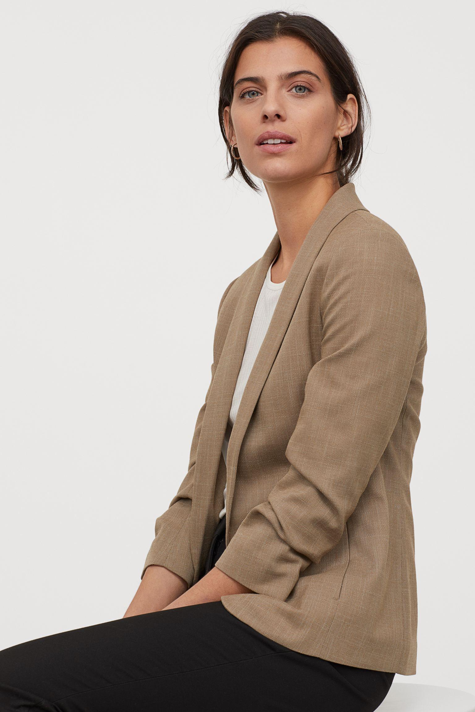 Отзыв на Пиджак с воротником шалью из Интернет-Магазина H&M