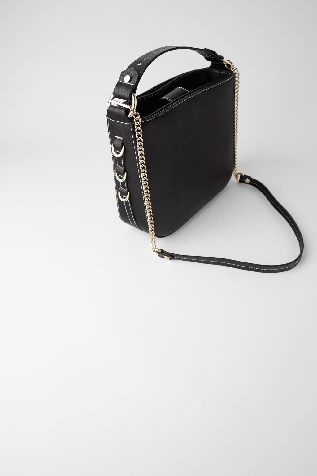 Отзыв на Сумка большая с Металлические украшения из Интернет-Магазина Zara