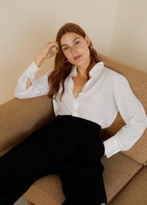 Отзыв на Расклешенное рубашка из Интернет-Магазина MANGO Outlet