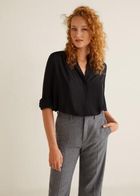 Отзыв на Шифоновая блузка из Интернет-Магазина MANGO Outlet