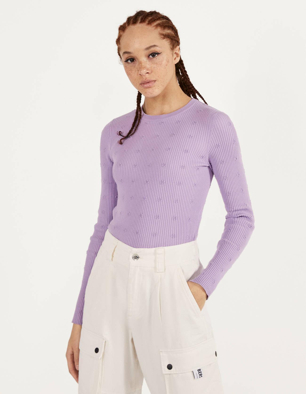 Отзыв на Geripptes Рубашка с цветочным узором из Интернет-Магазина Bershka