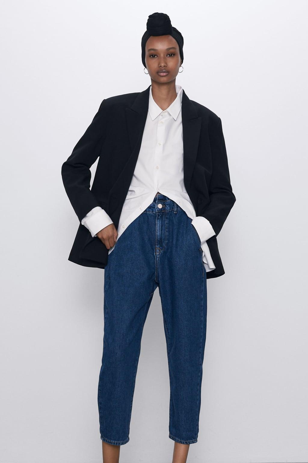 Отзыв на Z1975 Багги PAPERBAG Джинсы из Интернет-Магазина Zara