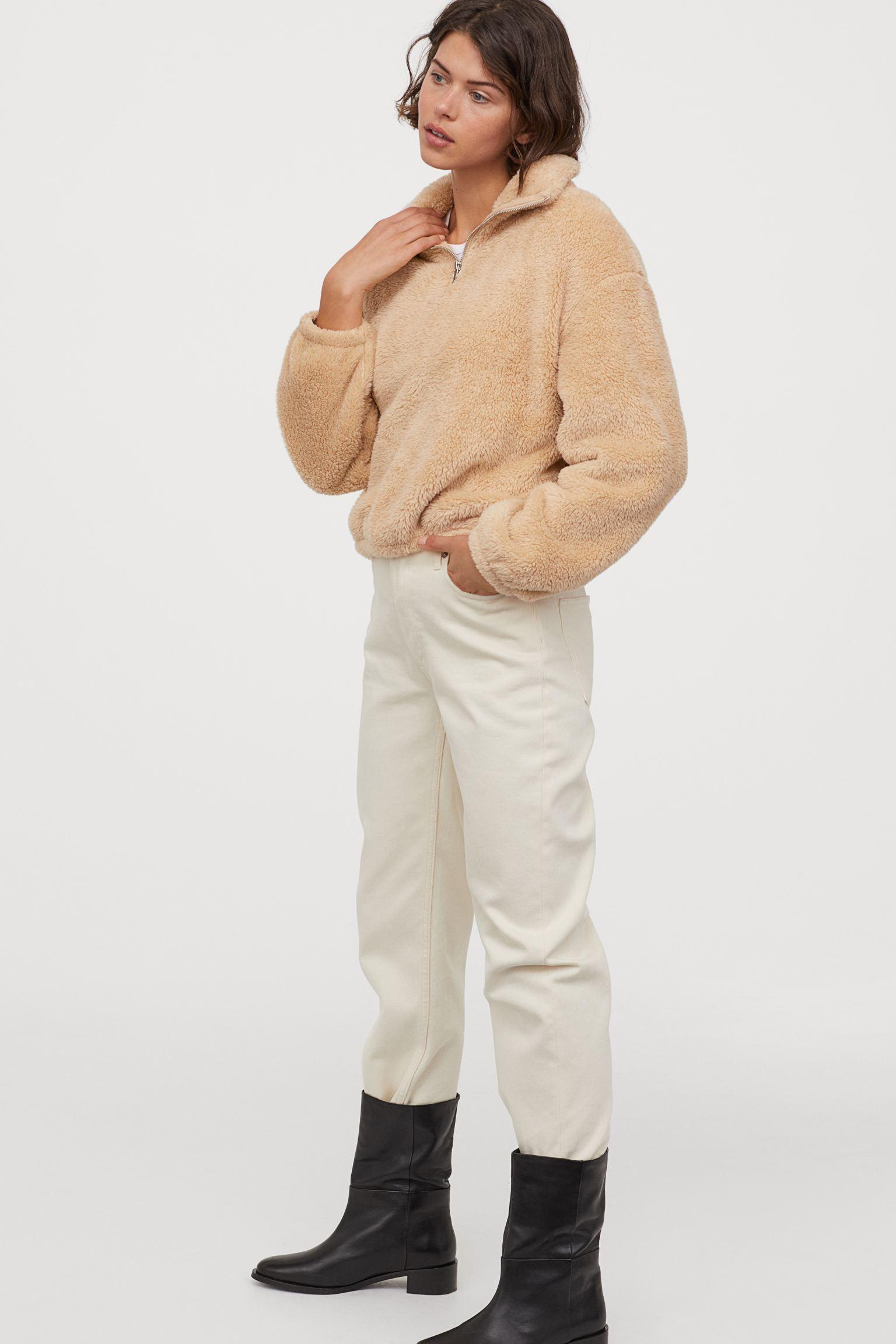 Отзыв на Флисовая кофта с Молния из Интернет-Магазина H&M