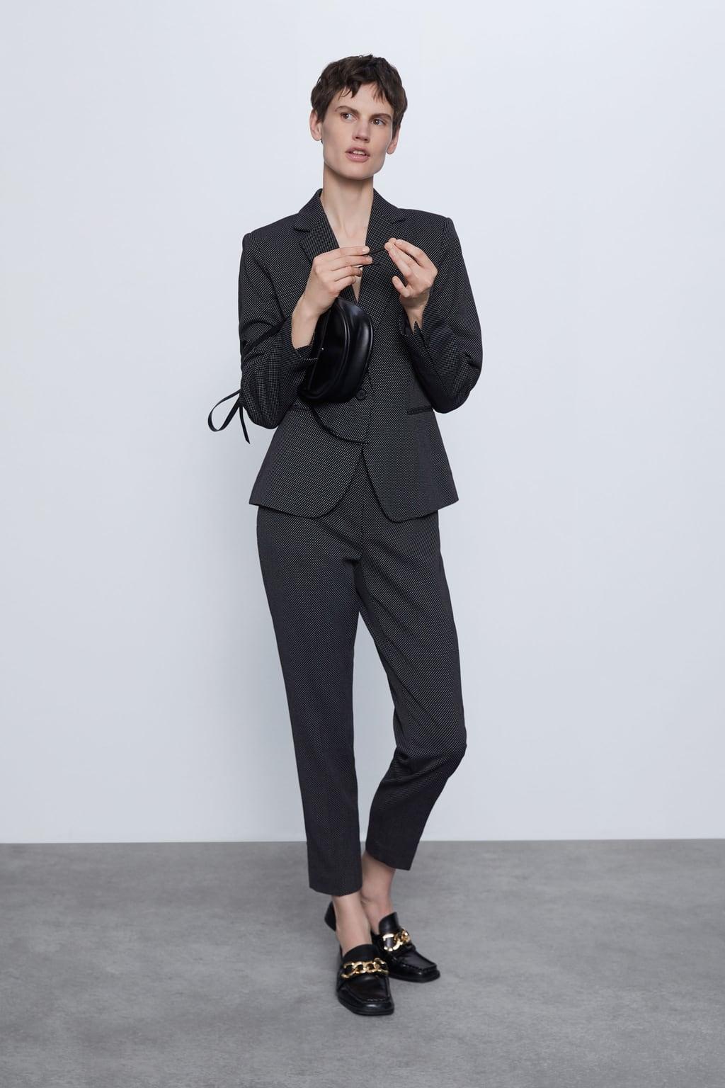 Отзыв на Тонкие брюки со структурным узором из Интернет-Магазина Zara