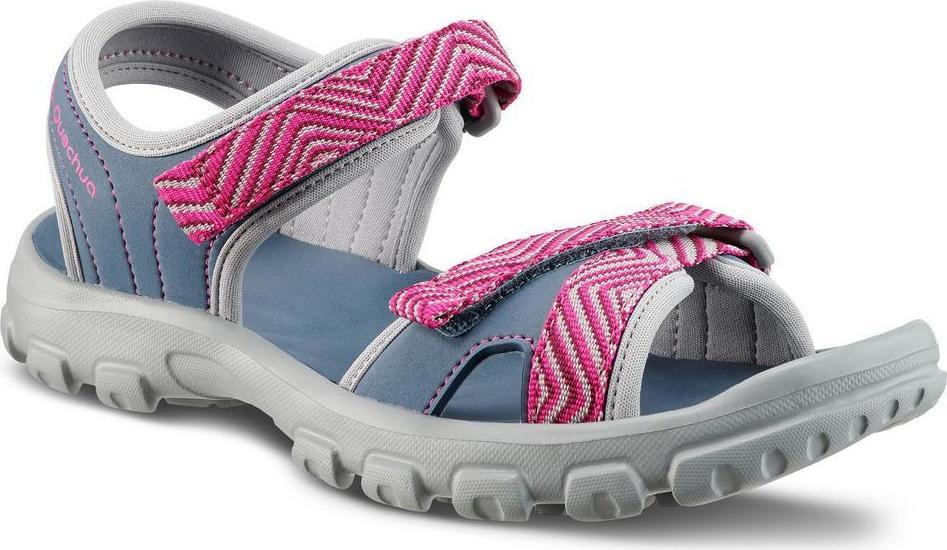 Отзыв на Сандалии Пешие прогулки MH100 для детей для девочки Гр. 32–37 синий/розовый из Интернет-Магазина Decathlon