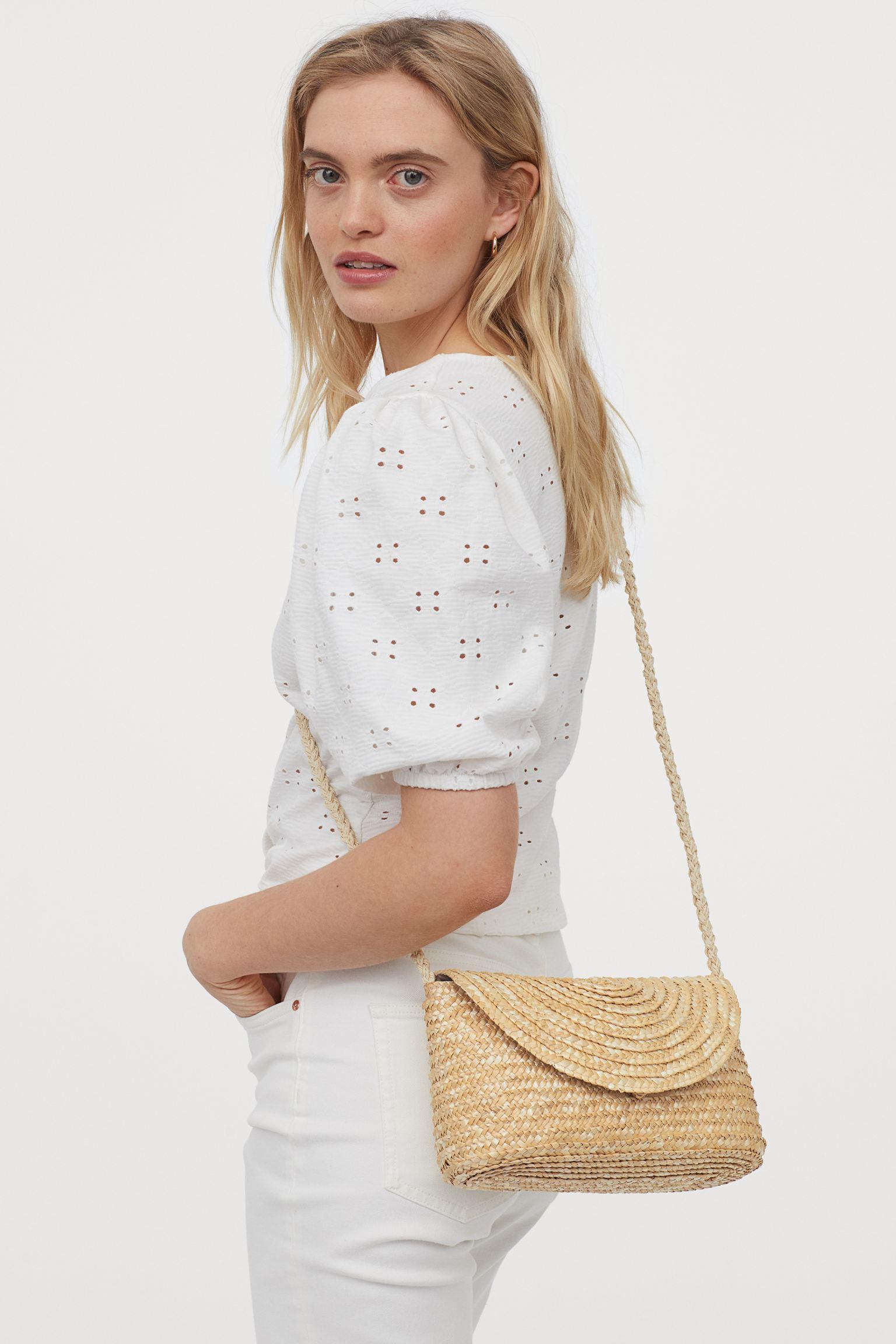 Отзыв на Kleine Strohhandtasche из Интернет-Магазина H&M