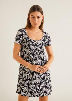Отзыв на Basic-Jerseykleid из Интернет-Магазина MANGO Outlet
