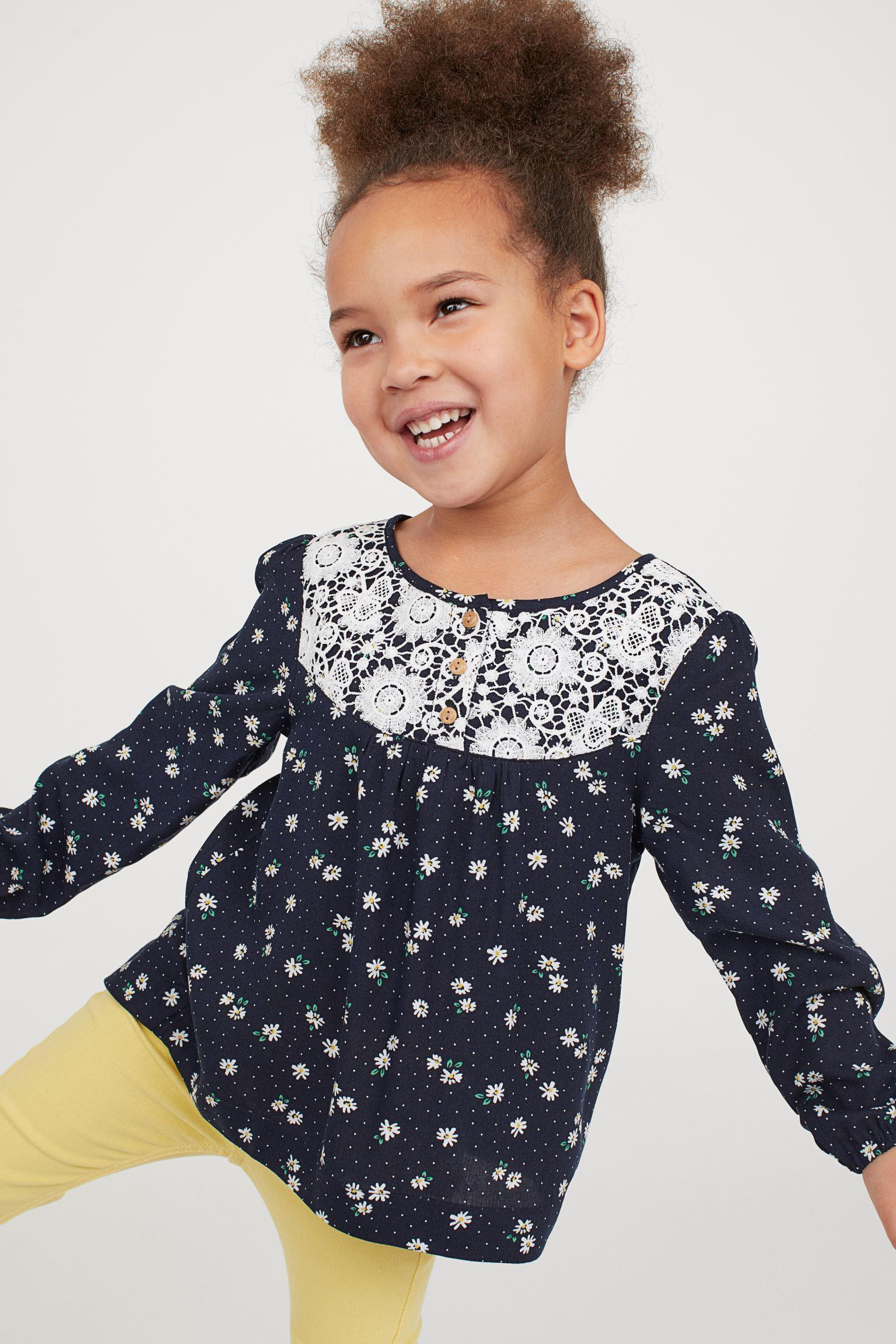 Отзыв на Блузка с кружевами из Интернет-Магазина H&M