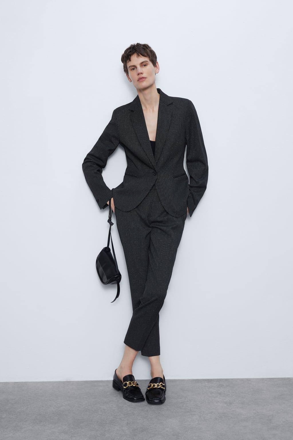 Отзыв на Taillierter Struktur-Blazer из Интернет-Магазина Zara