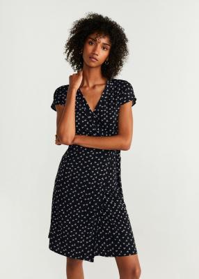 Отзыв на Платье на запах из Интернет-Магазина MANGO Outlet