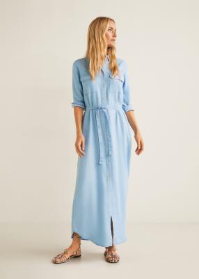 Отзыв на Мягкий платье с карманами из Интернет-Магазина MANGO Outlet