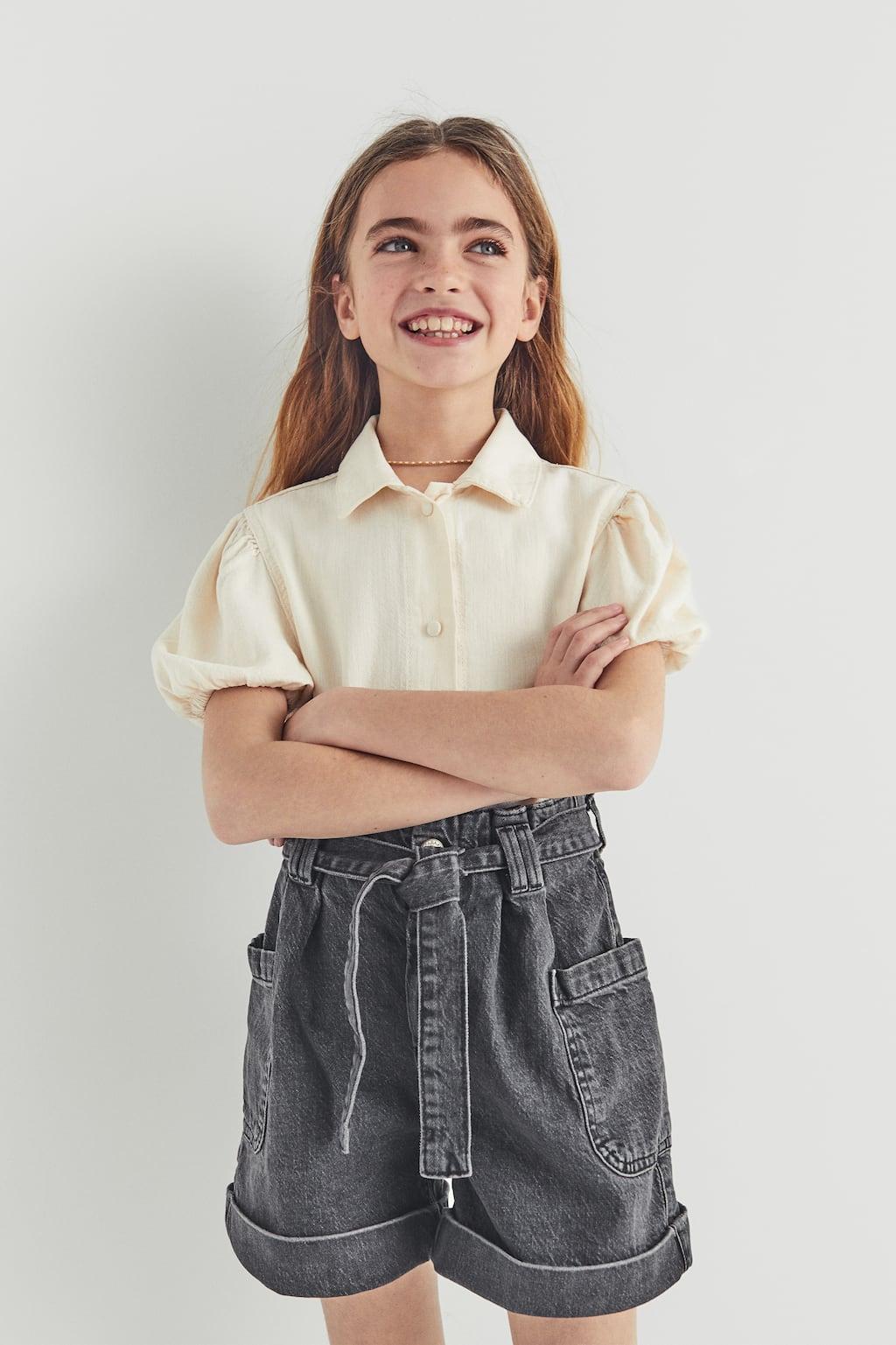 Отзыв на Джинсовый Бермуды шорты С Пояс из Интернет-Магазина Zara