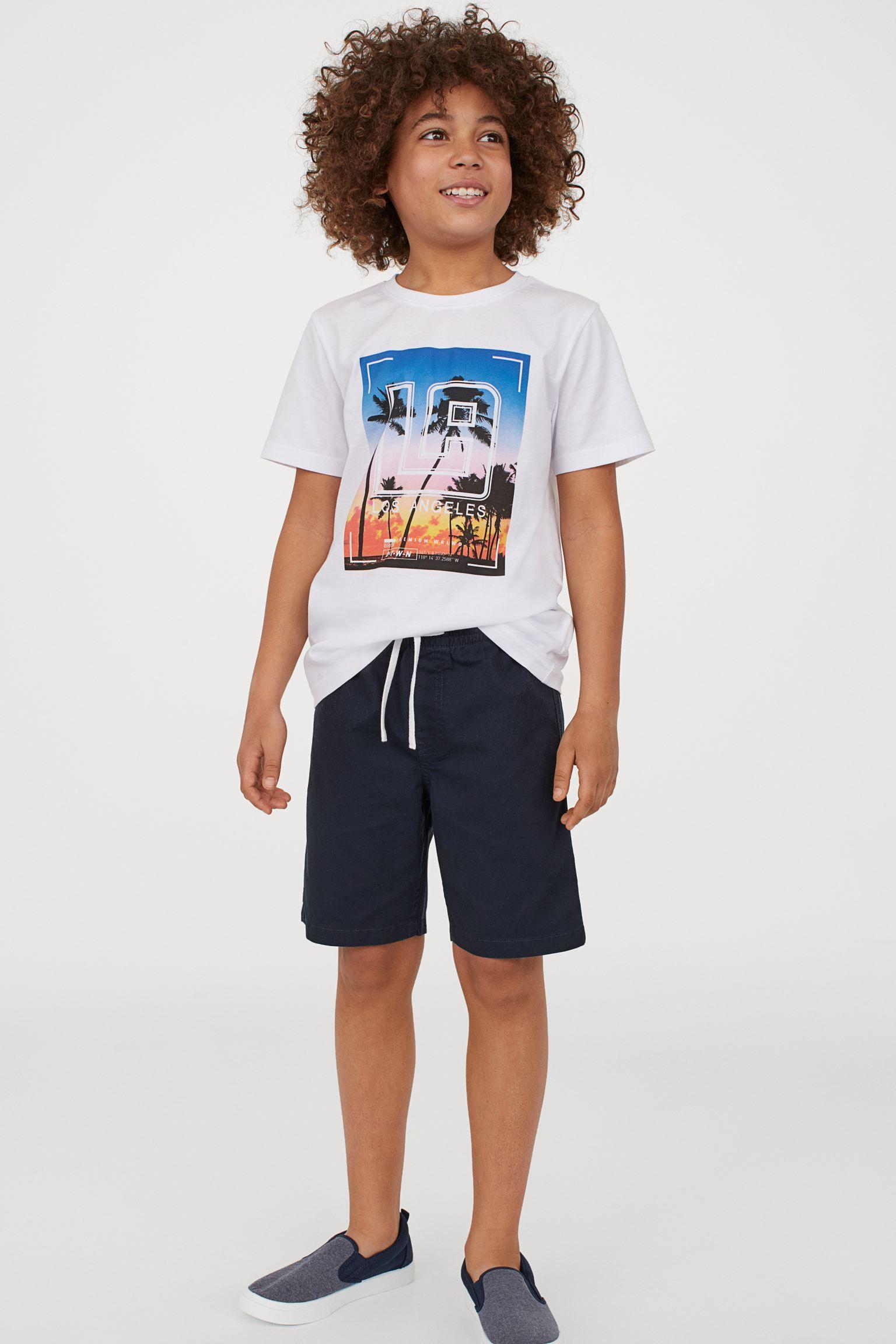 Отзыв на Футболка и шорты из Интернет-Магазина H&M