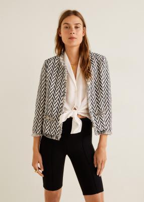 Отзыв на Куртка с Хлопка-Твид из Интернет-Магазина MANGO Outlet