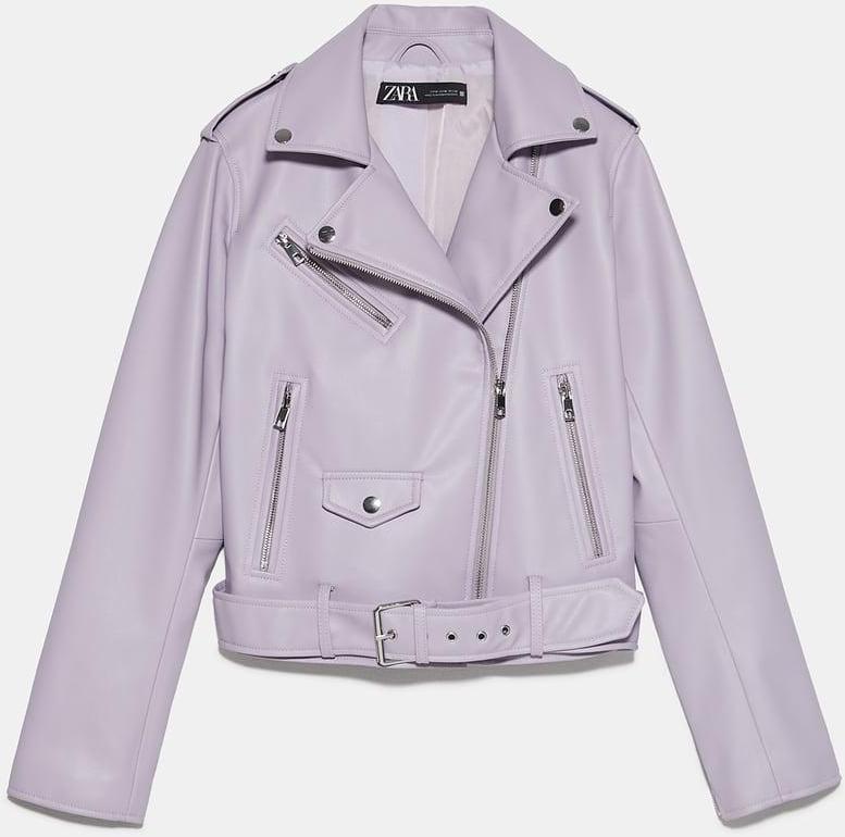 Отзыв на Куртка байкерская из искусственной кожи из Интернет-Магазина Zara