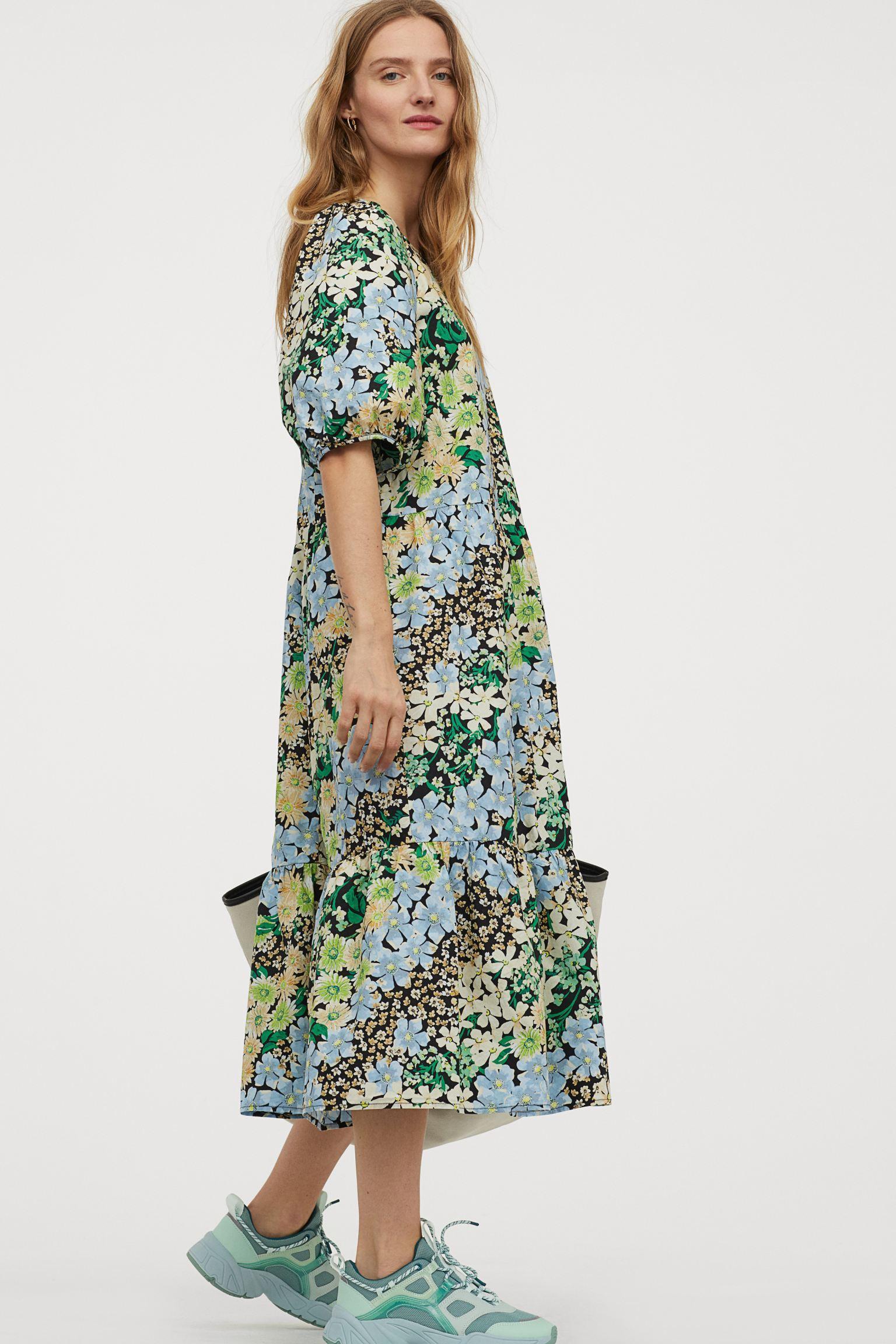 Отзыв на Платье с пышными рукавами из Интернет-Магазина H&M