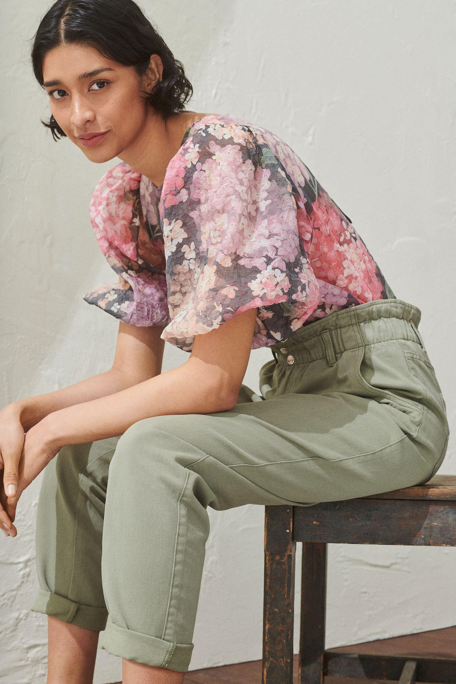 Отзыв на Paperbag-Hose из Интернет-Магазина H&M
