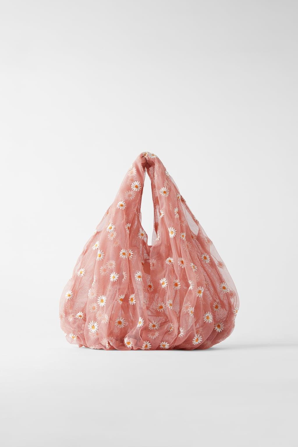 Отзыв на Сумка большая с ТЮЛЬ с вышивкой из Интернет-Магазина Zara