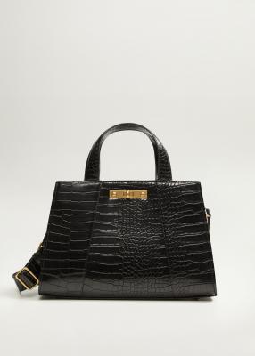 Отзыв на Tote Bag in Kroko-Optik из Интернет-Магазина MANGO Outlet