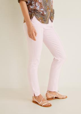 Отзыв на Прямые льняные брюки из Интернет-Магазина MANGO Outlet
