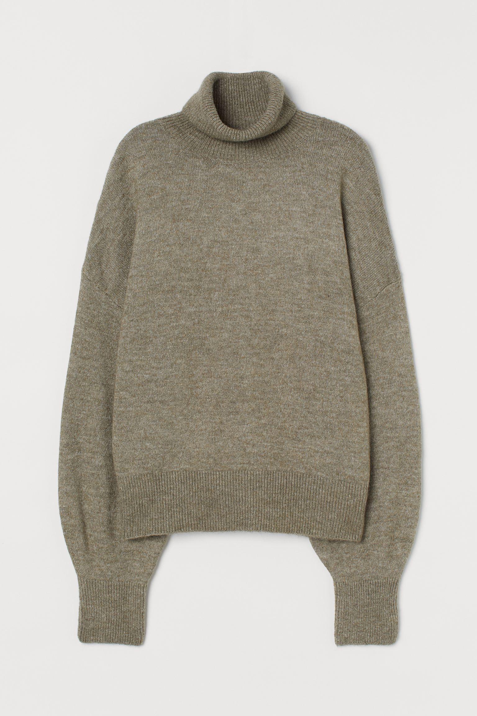 Отзыв на Свитер с горлом с тонкой вязкой из Интернет-Магазина H&M