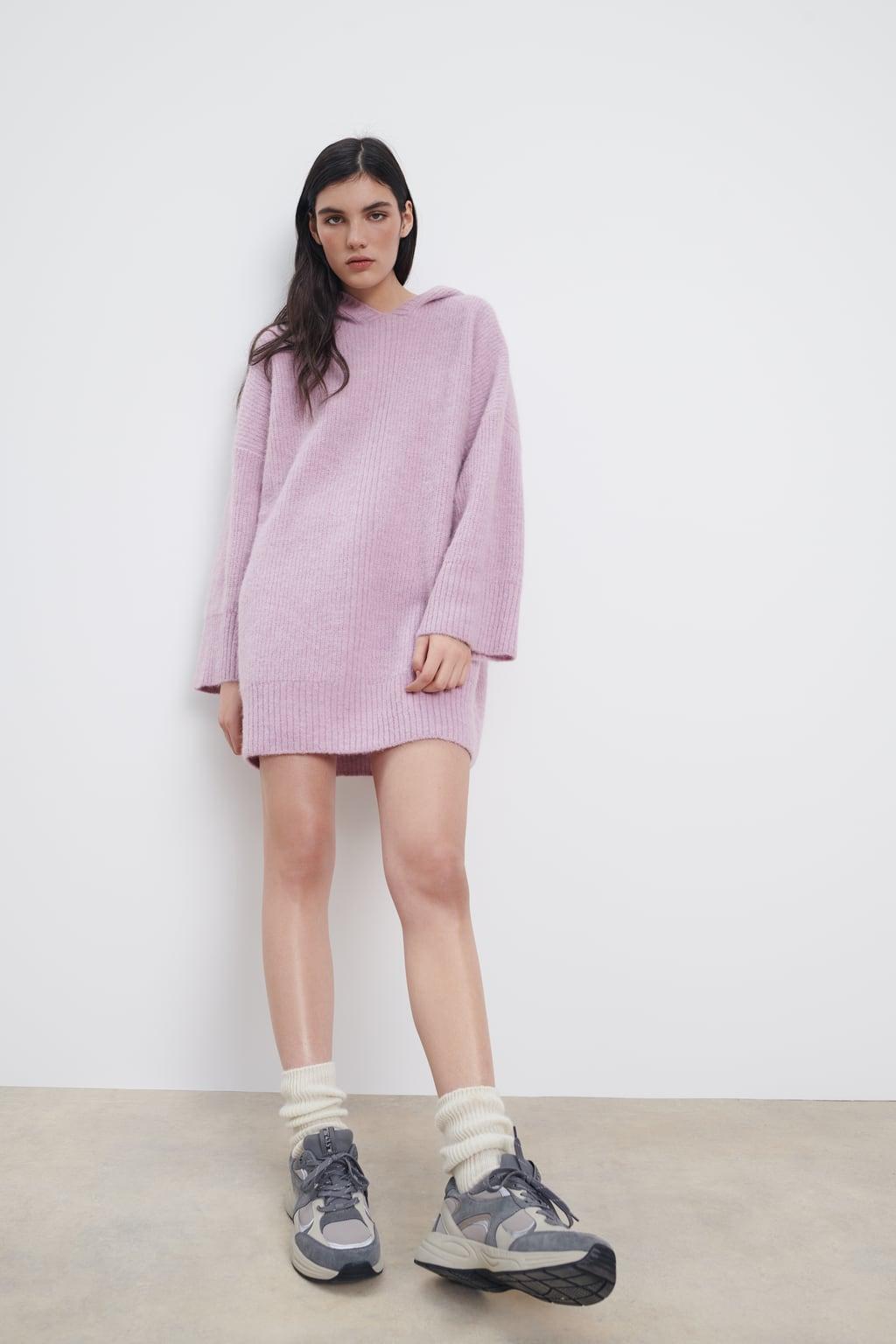 Отзыв на Шерстяное платье OVERSIZE-KAPUZENKLEID из Интернет-Магазина Zara