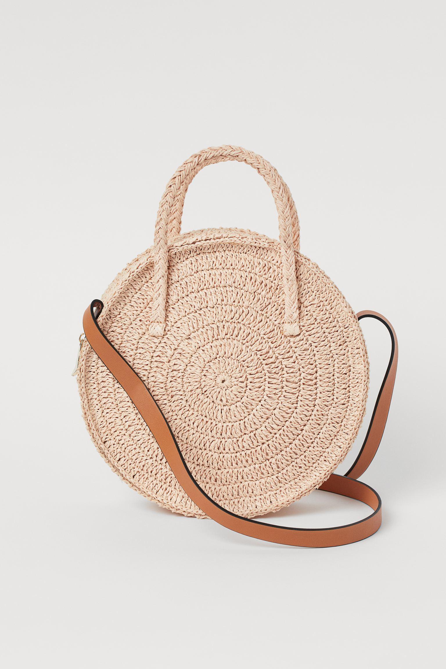 Отзыв на Runde Strohtasche из Интернет-Магазина H&M