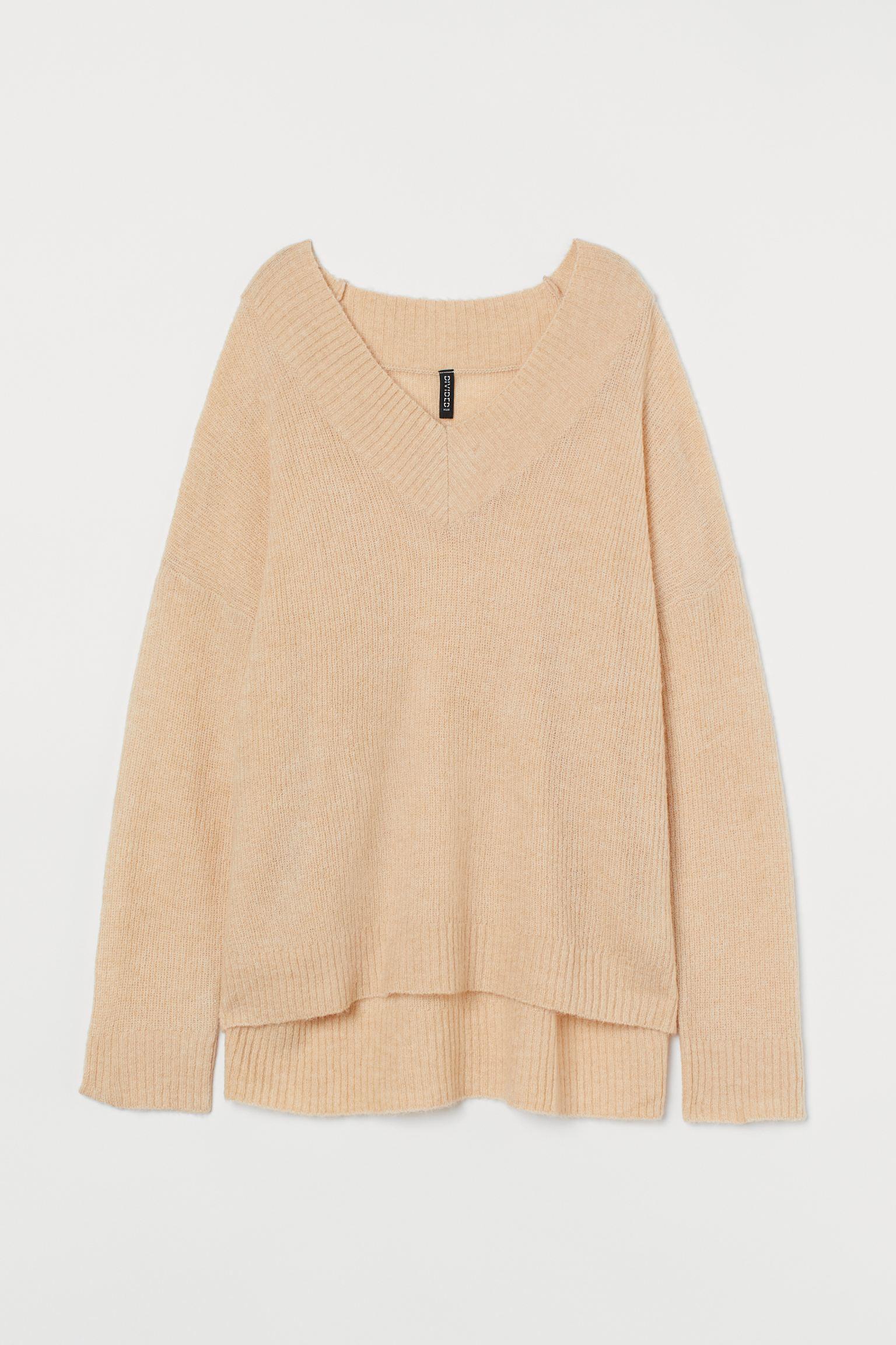 Отзыв на Свитер больше обычного размера шерстяные из Интернет-Магазина H&M