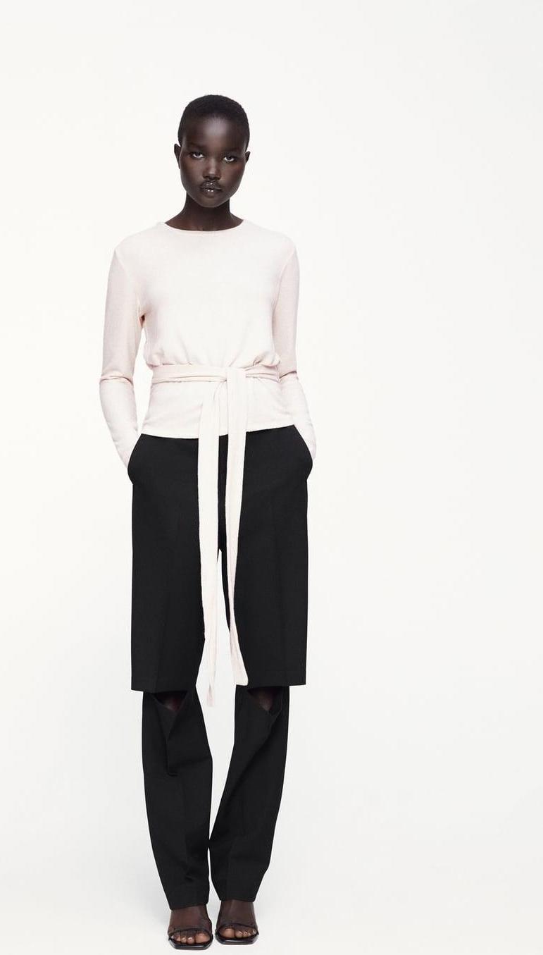 Отзыв на Футболка с петлей из Интернет-Магазина Zara