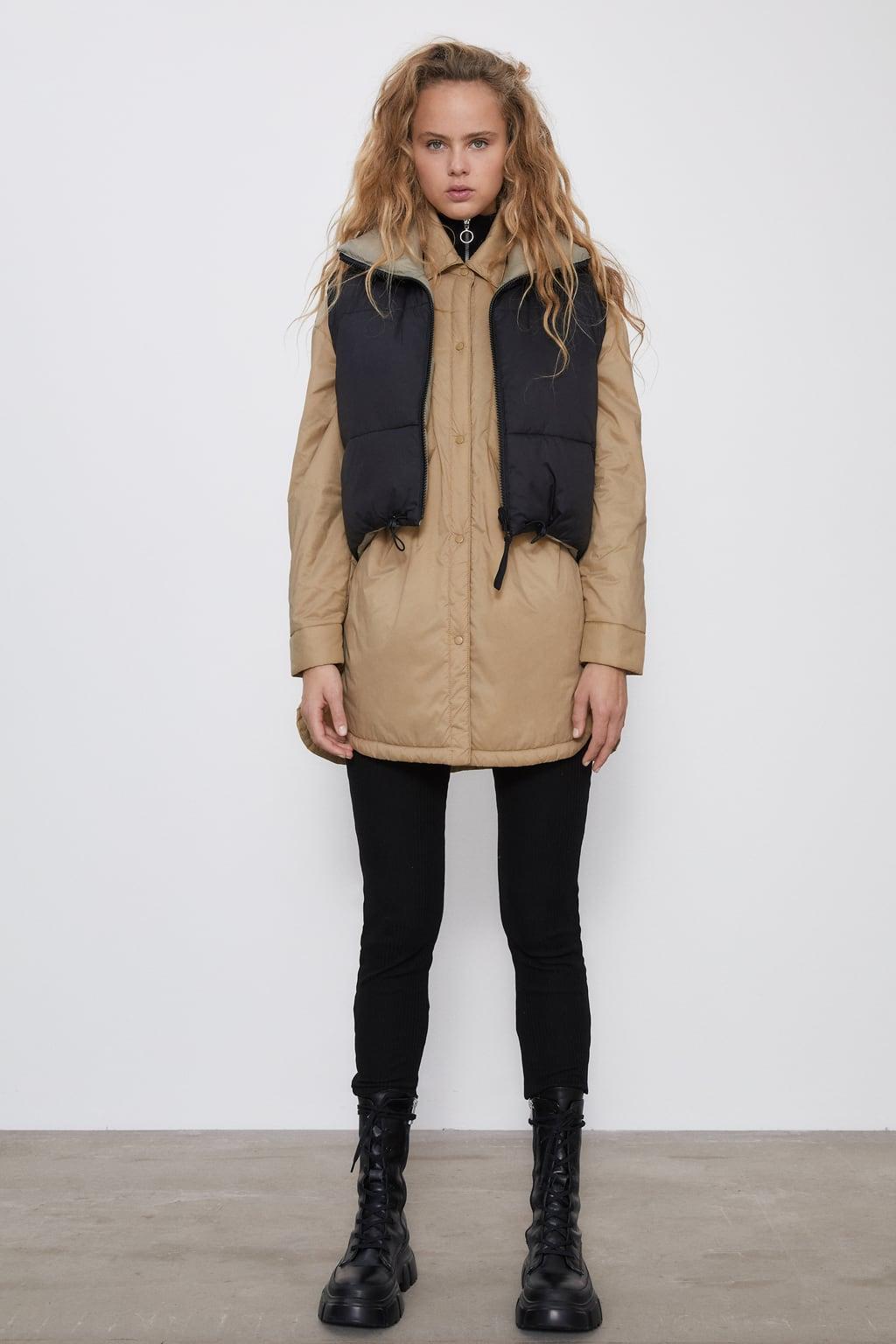 Отзыв на WASSERABWEISENDES OVERSHIRT из Интернет-Магазина Zara