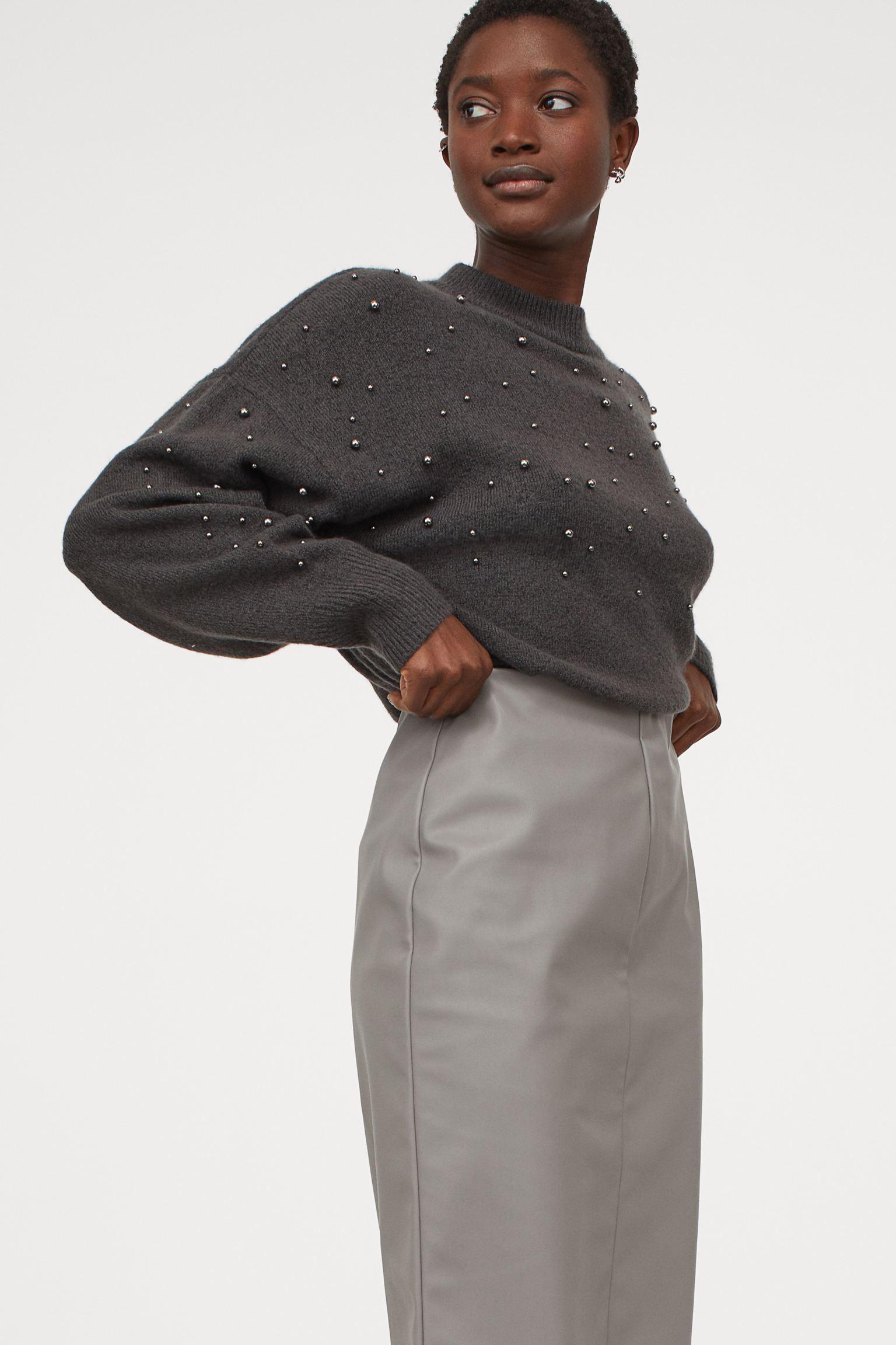 Отзыв на Пуловер с заклепками из Интернет-Магазина H&M